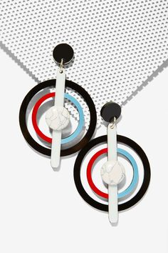 Melody Ehsani Marble Daze Drop Earrings | Shop Accessories at Nasty Gal!