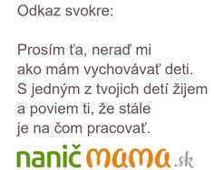 Odkaz svokre | Naničmama.sk
