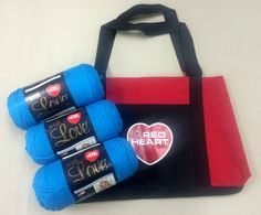 Red Heart With Love Yarn Contest; I love any contest that gives away good yarn & of course I always need another bag