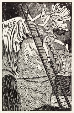 Andromeda, from Almanack 1929, by Eric Ravilious (1903-42). Wood engraving.