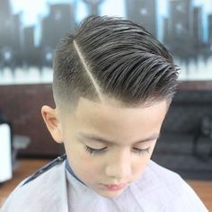 30 Trendy Boy Haircuts For Your Little Man 2018 #Bun #How #Short #Swag #With Curly Hair #2017 #Faux Hawk #Comb Over #Medium Lengths #Style #Barbers #Fashion