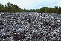 Kivijata, Lauhanvuoren kansallispuisto. Kuva: Timo Nieminen