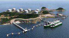 Ukrayna, Karadeniz Kıyısında LNG Terminali İnşa Ediyor