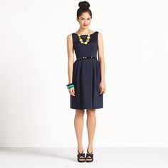 Navy bridesmaid, Kate Spade. (Especially love the back!)