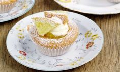 Mary Berry Cooks: Orange butterfly cakes.  I did a lemon version as lemon curd is easier to get hold of if you don't make your own.  Absolutely scrumptious!