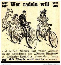 Original-Werbung/ Anzeige 1898 - NEUES BLATT / LEIPZIG - REUDNITZ / MOTIV…