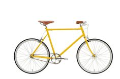 After the success of the loaner bicycles Tokyobike made for London's Ace Hotel, the two are issuing a limited-edition model tailored for stylish city cyclists. Shown in matte gold, with a leather saddle by Brooks England with handlebar grips by Nonusual, the chromoly-steel-framed bike is available in multiple colors and sizes; $875. tokyobikenyc.com, 212-925-8200