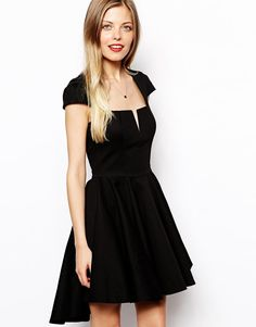 ASOS | ASOS Full Skater Dress at ASOS My homecoming dress!