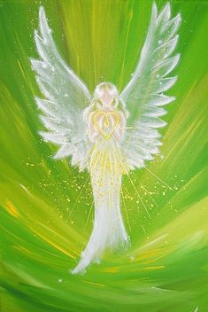 """Limited angel art photo """"feeling the love of the angel"""", modern angel painting, artwork, picture frame, gift Title: feeling the love of the angel two sizes available: photo) and inches (second photo) – glossy – limited photo of one of my Angel Pictures, Artwork Pictures, Top Paintings, Original Paintings, Angel Paintings, Angels Among Us, Guardian Angels, House Painting, Painting Art"""