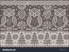 stock-vector-knitted-pattern-with-owls-fashionable-northern-pattern-vector-creative-illustration-with-winter-166258355.jpg (1500×1132)