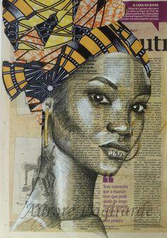 portrait femme au turban