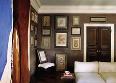 Top-notch art belongs someplace fabulous, as evidenced in these richly-ornamented frames from our archive