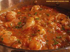 Shrimp Creole Recipe | Nola Cuisine. Tastes better with homemade shrimp stock