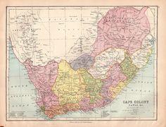 Details about Map of Oceania Australia New Zealand Large Bartholomew
