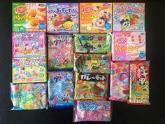 Crazy Japanese DIY Candy Kits - Sushi, Cakes, Obento...