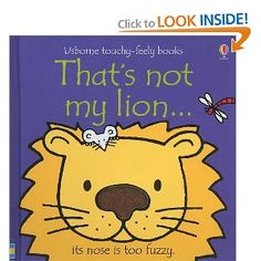 That's not my...board Book: 10 pages Dimensions: 14 x 14 x 2 cm - Delightful board book with high contrast illustrations  patches specially designed to appeal to the very young. - Each picture has a simple description that will help babies  learn to associate words and pictures. - Young children will love feeling the different materials in every picture again and again. - The last two pages help children learn their first colours.