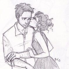 Drawing by Burdge