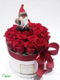Flower box za čestitanje Nove godine