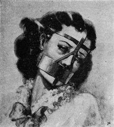 Muselière pour femme..19e siècle Angleterre..aucun commentaire...