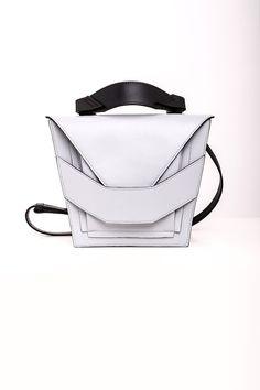 Layered Milk-Black Bag