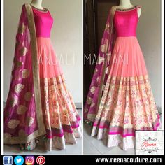 Floor length Anarkali with Dupatta material soft net and pitta work with border placement. For more details please call or whatsapp on 9819416785 or share your number we will call you. http://www.reenacouture.com/ #gownsforcheap #designerdressesforcheap #designer #dresses #for #cheap #discounted #sale #customized #western #dress #bridal #replica #Bollywoodlook #plus-size #plus # size #xxxl #xxxxl #5xl #tailors #whole-seller #beautifulCollection #Celebrity #party #IndianFashion #Trend