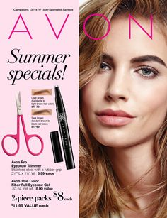 Avon Summer Specials!  Campaigns 13-14 2017 Starts May 22, 2017 Ends June 19, 2017 #Avon #AvonSummerSpecials #AvonSale