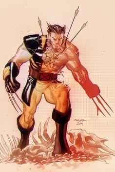 Wolverine by marciotakara.deviantart.com on @deviantART
