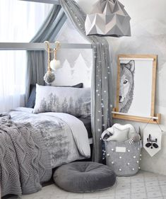 Marvelous Boys Bedroom Ideas That Will Inspire You Grey Children's Room / Chambre pour Enfant Grise Our latest project. Diy Toddler Bed, Boy Toddler Bedroom, Boys Bedroom Decor, Toddler Rooms, Baby Bedroom, Baby Boy Rooms, Baby Room Decor, Girls Bedroom, Bedroom Ideas