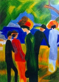 August Macke (1887-1914), Germany