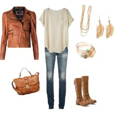 Casual - Ivory & Tan