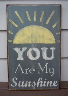 """""""You Are My Sunshine"""" From my Grammy's kitchen"""