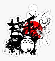 Japan Spirits Sticker