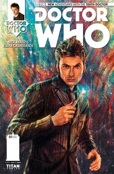 Cover to Doctor Who: The Tenth Doctor #1