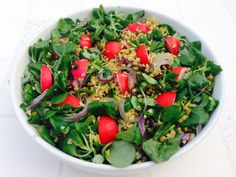 Have you tried freekeh? This great freekeh salad  is a must try!