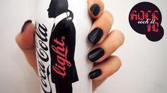 Nail Art #4 ~ Carbon nails and… Rock it!