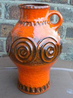 fat lava pottery | Jasba West German Fat Lava Vase 1970's Retro | Flickr - Photo Sharing!