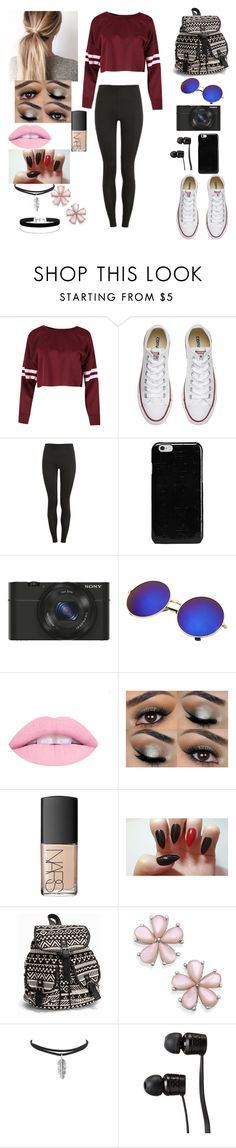 """""""Untitled #23"""" by ioana-lorena on Polyvore featuring Converse, Proskins, Maison Margiela, Sony, NARS Cosmetics, NLY Accessories, Vans and Miss Selfridge"""