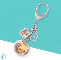Origami Owl Jewelry - New Bag Clip or Keychain!  Purchase and let me be your personal Independent Designer @ hootowllockets.origamiowl.com