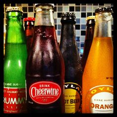 Thirsty? Have a refreshing old fashioned soda!