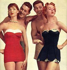 vintage bathing suit ad