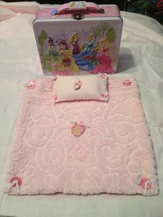 mini doll bed and carry case