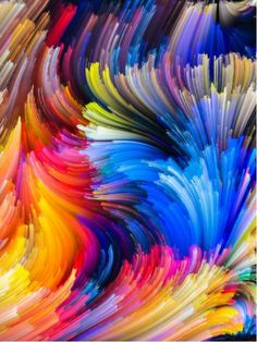 Colourful Abstract from $31.99 | www.wallartprints.com.au #AbstractArt