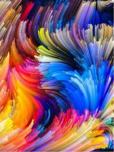 Colourful Abstract | www.wallartprints.com.au #AbstractArt