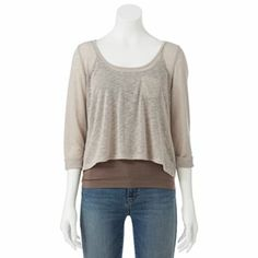 About A Girl Swing Crop Top - Juniors