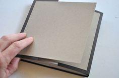 TUTO Mini Album using one 12 x 6 , three 12 x , and two x pieces of cardstock Mini Album Scrapbook, Scrapbooking Album, Mini Albums Scrap, Scrapbook Paper Crafts, Tutorial Scrapbook, Mini Album Tutorial, Photo Tutorial, Diy Papier, Mini Photo