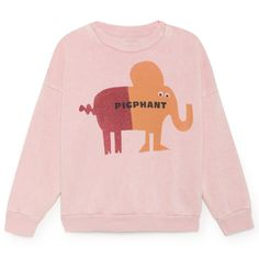723c6997d6773 Pigphant Sweatshirt by Bobo Choses – Junior Edition Kids Outfits, Cool  Outfits, Shapes For