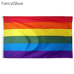 Hot Sale Rainbow Flags And Banners 60*90cm Lesbian Gay Pride LGBT Flag  Polyester Colorful Rainbow Flag For Decoration
