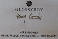 Herbstpower mit der Glossybox Young Beauty