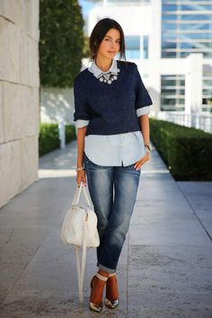 VivaLuxury - Fashion Blog by Annabelle Fleur: IN THE NAVY