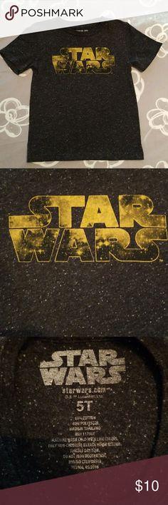 Boys Star Wars T Shirt Super soft, black, Star Wars T Shirt. Star Wars Shirts & Tops Tees - Short Sleeve